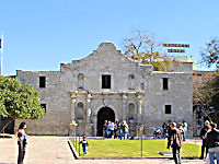 View of the Alamo from the Alamo Garden